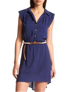 Service day dress and the belt would be perfect for the boots!!!