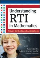 This is the definitive volume on RTI in math: what we know about it, why it works, and how to use it to ensure high-quality math instruction and higher student achievement.  Edited by National Math Panel veteran Russell Gersten with contributions by all of the country's leading researchers on RTI and math, this cutting-edge text blends the existing evidence base with practical guidelines for RTI implementation.