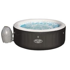 Bestway Lay-Z-Spa Cuve thermale gonflable Miami Air Jet Lay Z Spa Miami, Hot Tub Accessories, Massage, Jacuzzi Tub, Garden Tub, Spa Offers, Jet, Luxury, Places