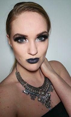 #fiftyshadesofgrey #makeup #grey