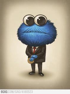 Cookie Monsta, like a sir..