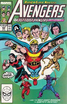 The Avengers #302, 1989