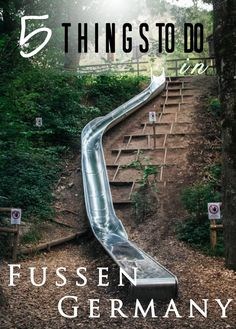The Romantic Road: 5 Things to Do in Fussen, Germany – Sharon Mader The Romantic Road: 5 Things to Do in Fussen, Germany we are so going down the giant slide.The Romantic Road: 5 Things to Do in Fussen, Germany Romantic Road, Romantic Getaway, Romantic Travel, Romantic Destinations, Romantic Vacations, Holiday Destinations, Honeymoon Destinations, Road Trip, Germany Castles