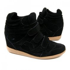 B.F.T. by Barefoot Tess Brooklyn Wedge Sneaker (Black) - Style of a wedge, comfort of a sneaker. Yes, please.