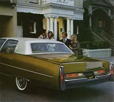 1976 Cadillac Fleetwood Brougham, for the colour