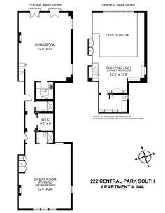 Corcoran, 222 Central Park South, Apt. 14A, Central Park South Real Estate, Manhattan For Sale, Homes, Central Park South Co-op, Daniel Douglas, Eileen LaMorte