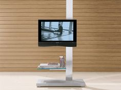 Mueble TV de cristal DOLCE VITA by Cattelan Italia   diseño Paolo Cattelan