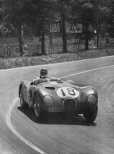 Jaguar C-Type 18 Le Mans 1953
