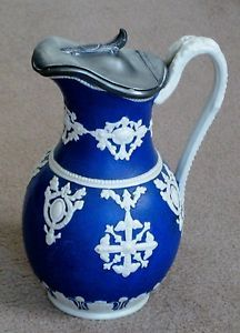 Jewel jug. Design registered by William Brownfield 5 October 1858