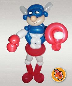 Capitan america#twistballoons