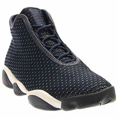 brand new 0618d 62402 ... Premium Men Round Toe Leather Brown Sneakers. Lihat lainnya. Jordan Men sJordan  Horizon (midnight navy   infrared 23   black  white size