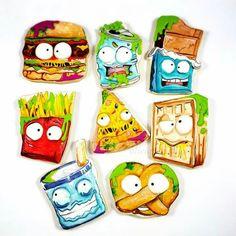 Alicia Delicias:  GROSSery gang cookies!  ♡