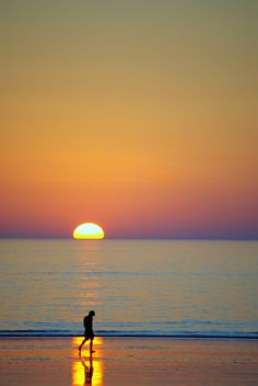 Broome Australia - Cable Beach sunset. I caught this at the right time, my favourite.