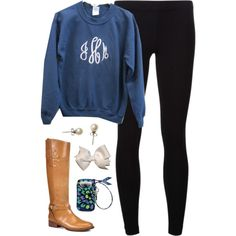 """""""Monogram"""" by classically-preppy on Polyvore"""