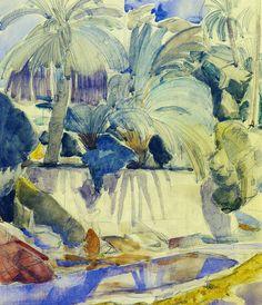 Charles Dufresne - Landscape at Bou Saada