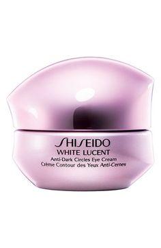 Shiseido 'White Lucent' Anti-Dark Circles Eye Cream available at #Nordstrom