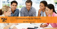 Learn how to pick the perfect communication medium for various types of messages from informative communications, communicating timelines, leadership communications and earn 60 PDUs. In this course, you will learn from 25 speakers, bestselling authors and experts on how to choose the perfect form of communications to structure your messages for optimum results: • Public speaking • Email communications • Leading meeting • One on one meetings • Phone communications • Written communications •…