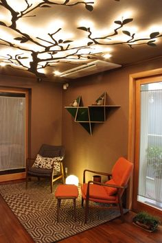 Open House : J1 studio    Do you like the branching lamp?