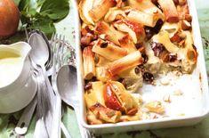 Süßer Zimt-Nudelauflauf mit Äpfeln, Mandeln und Cranberrys - Schrot und Korn - Das Kundenmagazin für den Naturkosthandel