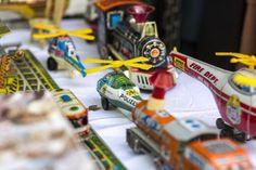 mercado de motores שוק פשפשים בבמוזאון הרכבת במדריד. שבת ראשון ה2 בכל חודש