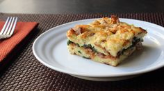Learn how to make a Bacon Cheddar & Spinach Strata Recipe! Go to for the ingredient amounts, more information, and many, many more video recipes! I hope you enjoy this easy Bacon Cheddar & ...