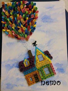 Yukari Bak Balon Quilling Sanati Quilling Quilling Quilling Art