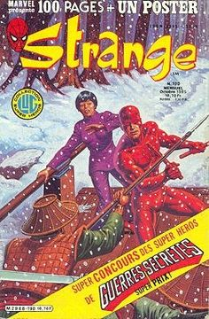 Strange #190 - Le journal de Spider-Man