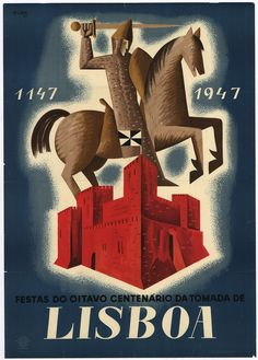 Revering History — Visualizing Portugal: the New State Paris Poster, A4 Poster, Retro Poster, Poster Wall, Vintage Travel Posters, Vintage Advertisements, Ads, Vintage Prints, Graphic Prints