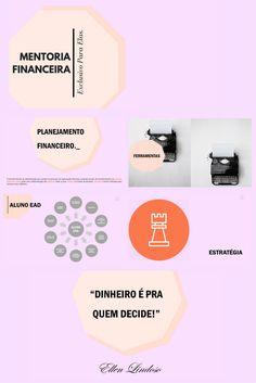 """Modelo de apresentação em módulos para """"Mentoria Financeira para Mulheres"""""""