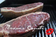 Sneek-peek of my new recipe! New York Strip Steak! @madamecroquette.wordpress.com
