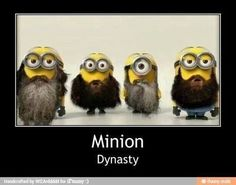 Funny...I love Minions. Minion Dynasty is even better! <3