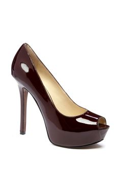 ENZO ANGIOLINI Tanen.  I couldn't ever wear these but they are gorgeous.