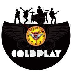 23,50 € Horloge vinyle décoration Coldplay