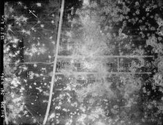 WWI, 23 July 1917, Aerial photograph, Western Front. Plotting reference; 36C N 36D. ©IWM  (BOX 368-396-5AC-36C-1917)