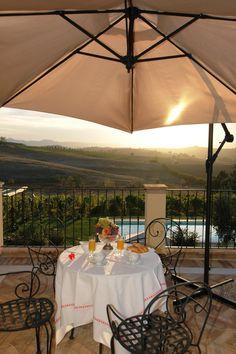 Goodmorning Tuscany. By LA VALIANA