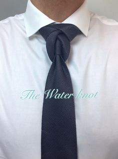 Knot by Boris Mocka Cool Tie Knots, Cool Ties, Tie Knot Steps, Tie A Necktie, Tie Styles, Tie And Pocket Square, Clothing Hacks, Men Style Tips, Suit And Tie