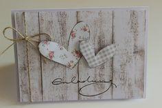 Einladungskarte zur Hochzeit von Villala auf DaWanda.com