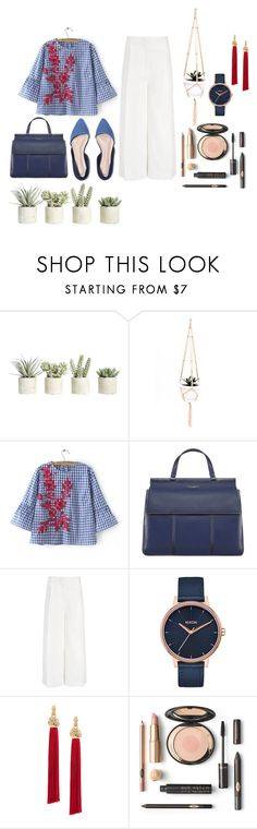 """""""Not your typical work outfit"""" by lilarmy1478 ❤ liked on Polyvore featuring Allstate Floral, Tory Burch, Joseph, Nixon and Yves Saint Laurent"""