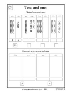 base ten blocks worksheets for first grade working with 10s and 1s worksheets activities. Black Bedroom Furniture Sets. Home Design Ideas