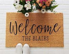 This House Runs On Doormat, Beer and Burritos Doormat, Funny Doormat, Funny Welcome Mat, Personalize Funny Welcome Mat, Welcome Mats, Large Mats, Front Door Mats, Front Porch, Front Yards, Calla, Funny Doormats, Outdoor Paint