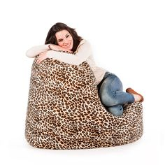 Puf Lounge Leopardo