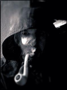 Smoking meerschaum...