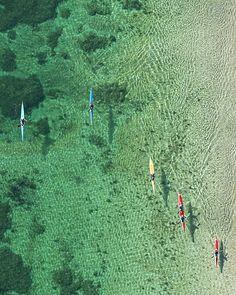 Aerials Rowing // Bernhard Lang