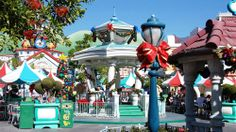 Christmas at Disneyland Beautiful