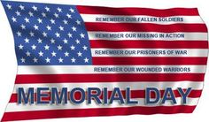 Free Memorial Day clipart, gifs, jpeg's and animations. America flags, Pow-Mia and other images for Memorial Day. Remember America's fallen and missing soldiers. Remember all those that have served. Memorial Day Poem, Memorial Day Pictures, Veterans Memorial Day, Memorial Day Thank You, Holiday Images, Holiday Pictures, Holiday Ideas, Thank You Messages, Wounded Warrior