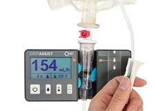 DripAssist - A New, Simple Tool to Enhance the Age-Old Practice of Gravity Infusion- Infusion pumps are commonplace in US hospitals, but there are still many clinical settings worldwide where IV medications and fluids are administered via gravity infusion with a roller clamp or flow controller. - See more at: http://www.pedagogyeducation.com/Main-Campus/Student-Union/Campus-Blog/March-2017/DripAssist-A-New,-Simple-Tool-to-Enhance-the-Age-O.aspx?cmp=H14