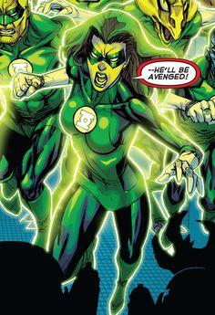 Sendrina __ Green Lantern Corps