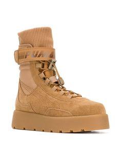9a8d30f5ab67 Fenty X Puma High Ankle Lace Up Scuba Boots - Farfetch
