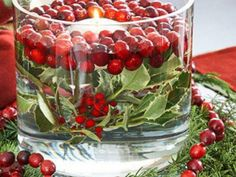 Use Cranberries to Make Thanksgiving Table Candles | Darien, CT Patch