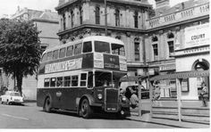 The 85 service to Speldhurst opposite the Central Station about 1965.